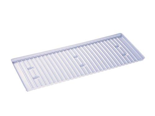 Justrite 29937 31 1/4'' x 18'' Steel Shelf For 22 gal Undercounter Sure-Grip EX Safety Cabinets, English, 153.4 fl. oz., Plastic, 31.25'' x 1'' x 18''
