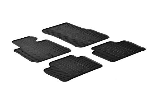 Trunk mat Citro/ën Berlingo XL /& Opel Combo XL /& Peugeot Rifter L2 9//2018 Gledring 1757 Rubbasol Rubber
