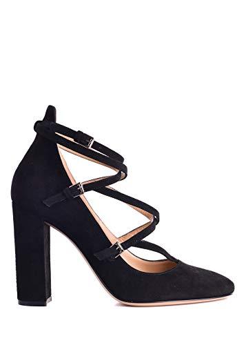 Gianvito Rossi Women's Black Suede Strappy Pumps Size IT40/US10~RTL$1200 ()