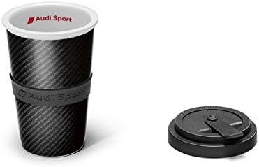 Genuine Audi Sport Porcelain Carbon Mug