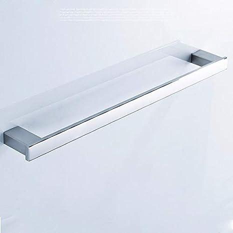 LHbox Tap Acero Inoxidable 304 Toalleros Espejo Cuadrado de ...