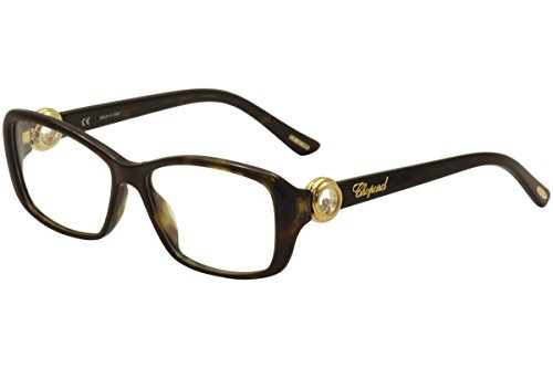 Chopard Woman Frames (Chopard Eyeglasses VCH 140S 140/S 0722 Havana/Gold Full Rim Optical Frame 55mm)