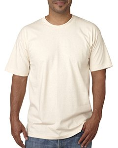 Bayside 5040 Adult Short-Sleeve Tee - Natural, Large