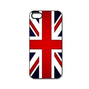 UK Flag Pattern Plastic Hard Case for iPhone 5/5S