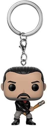New Official FUNKO POCKET POP THE WALKING DEAD negan Keychain Funko keyring