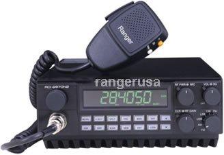 Ranger RCI-2970N2 DX AM-FM-SSB-CW 10 & 12 Meter Mobile Radio Cb Radio Noise Toy