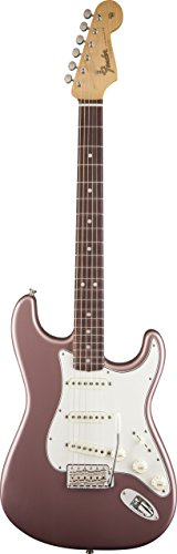 Fender American Vintage 65 Stratocaster Rosewood Burgundy Mist Metallic Electric - Fender Mist