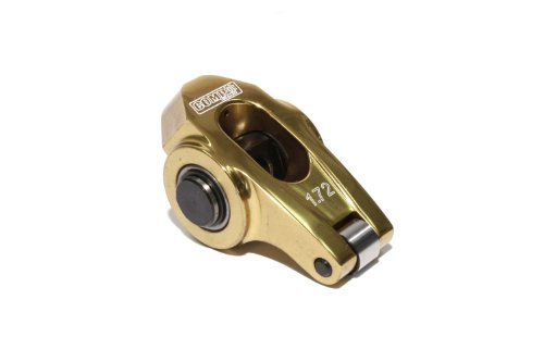 COMP Cams 19024-1 Ultra-Gold Aluminum Roller Rocker Arm with 1.72 Ratio and 8mm Stud Diameter for LS Series Engine