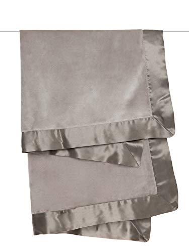 (Little Giraffe Velvet Deluxe Blanket, Flax, 29