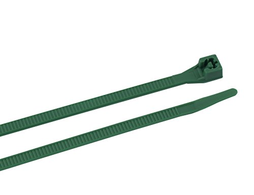 (Gardner Bender 46-308G Cable Tie, 8 inch, 75 lb, Electrical Wire and Cord Management, Nylon Zip Tie, 100 Pk,)