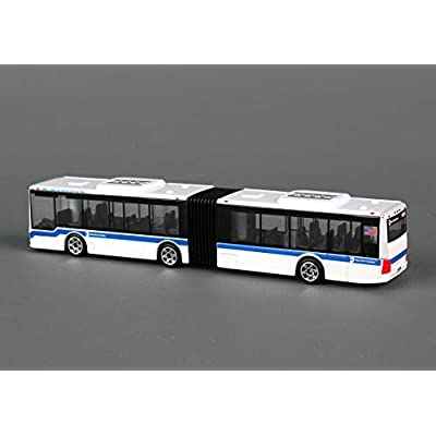 Daron MTA Articulated Bus, Small: Toys & Games