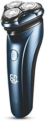 LZC Afeitadora eléctrica, Recortadora de Barba 3D Recargable ...