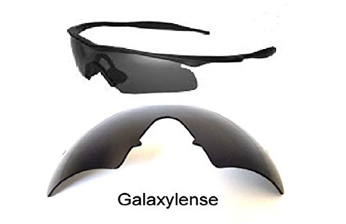 (Galaxy Replacement Lenses For Oakley M Frame Hybrid Black Polarized 100%)