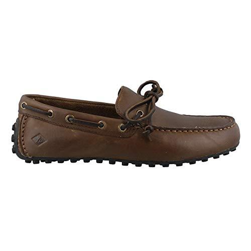Sperry Mens Hamilton II 1-Eye Loafer, Dark Brown, 13
