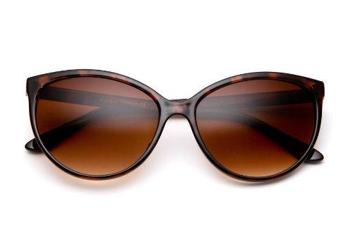 Gorgeous Womens Cat Eye Sunglasses Vintage Retro Tortoise - Cat Brown Eyes