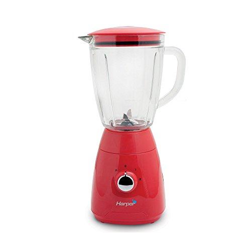 HARPER HB26_RED Blender Harper 500W 1.5L 2 Vitesses Rouge