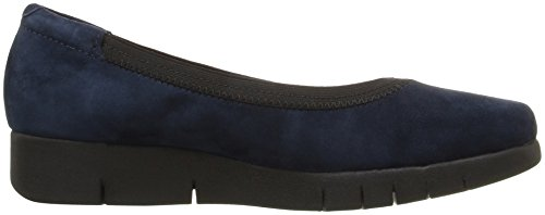 Clarks Womens Daelyn Hill Wedge Pump Navy Suede
