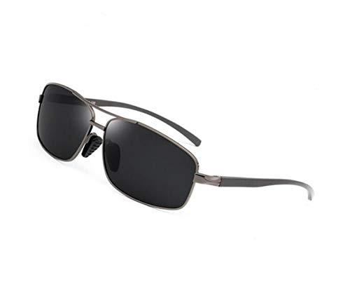aire Moda al sol de pesca Ciclismo sol gafas Hombres la Dark Mujeres polarizadas libre Grey Gafas protectoras FlowerKui de de para conducción UV400 TUSqpwpE74