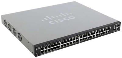 Cisco SLM2048PT-NA SG200-50P 50 Port Gigabit POE Switch