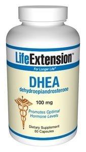 Life Extension DHEA capsules de 100 mg, 60-Count