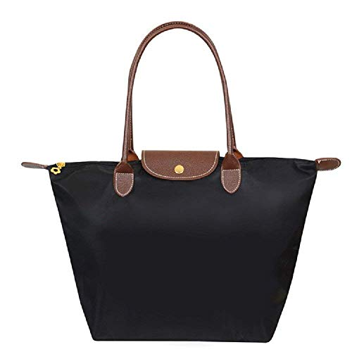 Travel Womens Handbags Black Purse Shoulder Zhengyue Shopping Nylon Messenger Ladies Bag Folding Large Casual Beach Tote BSwqCUPqx