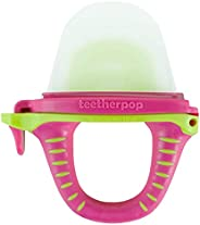 teetherpop Fillable, Freezable Baby Teether for Breastmilk, Purees, Water, Smoothies, Juice &