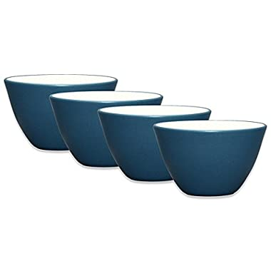 4 Sets Noritake® Colorwave Mini Bowls in Blue Microwave and Dishwasher Safe