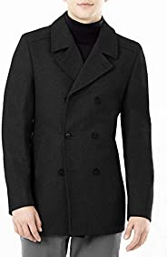 DKNY mens Modern Peacoat Pea Coat