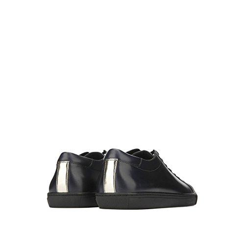 Kenneth Cole New York Mens Kam Läder Sneaker - Mens - Midnight Navy