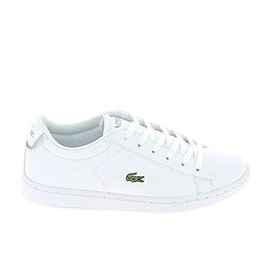 cc26961185 Lacoste Carnaby Evo 118 C Blanc Gris: Amazon.fr: Chaussures et Sacs