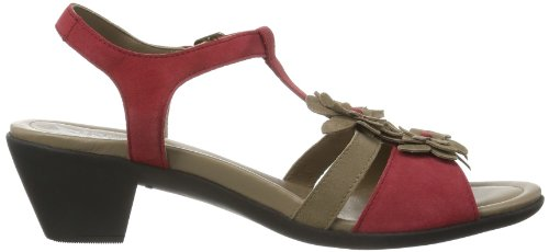 Mephisto Erudia Velcalf Premium 12248/12258 Red - Zapatos Mujer Rojo (Rot (RED VELCALF PREMIUM 12248/12258))