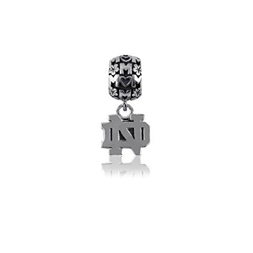 Dayna U University of Notre Dame Fighting Irish UND Sterling Silver Jewelry (Mom Charm Bead)