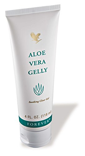 Aloe Vera Gelly 4 fl. oz Gel 100% d'aloe vera stabilisé