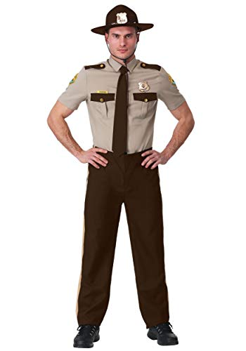 Adult Super Troopers Costume Small