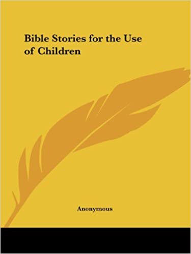 Book Bible Stories for the Use of Children (1833)