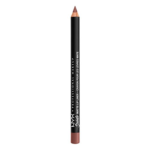 NYX PROFESSIONAL MAKEUP Suede Matte Lip Liner, Cabo, 0.035 Ounce