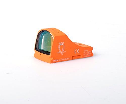 Docter Optic Sight C Safety Orange 7 MOA 55748 by Docter Optic