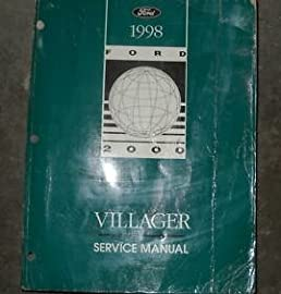 1998 ford mercury villager service shop manual oem ford amazon com rh amazon com 2002 mercury villager owner's manual 1993 mercury villager owner's manual