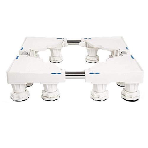 YE ZI Household Adjustable Bracket - 12 Fixed Feet Stabilized Base Heightened Bracket (Color : White 12foot)