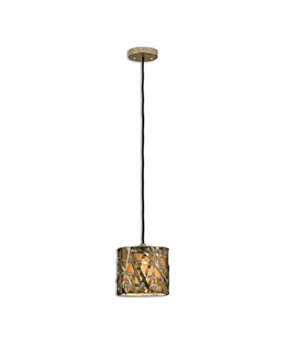 Uttermost Alita Champagne - Alita 1 Light Mini Pendant Finish: Champagne Satin