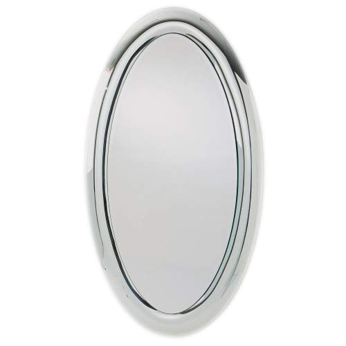 Global Views Luxe Oversize Silver Thick Frame Wall Mirror   69