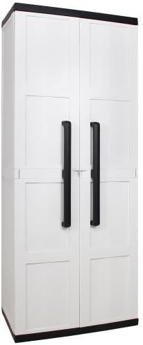 Plastic Cabinet Balcony Cabinet Terrace Cabinet Comfort Grey