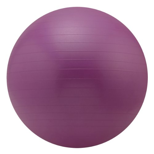Sivan Health And Fitness Yoga Stability Ball and Pump, Purple, 75cm