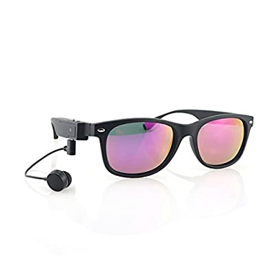 Smart Bluetooth Headset Glasses Polarized Sunglasses Driving Songs Calling Multifunction Fishing Glasses HD Look Drift Outdoors Clear Backlighting Glasses Men's And Women's Sunglasses Can Be Equipped