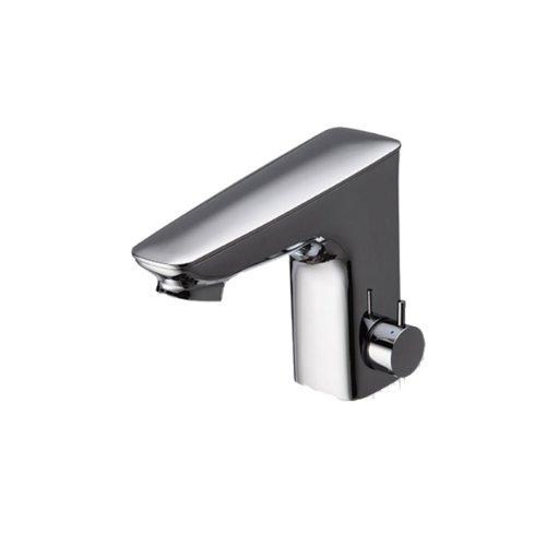 Ecopower Electronic Lavatory Faucet - Toto TEL5LI15R#CP Integrated EcoPower Bathroom Sink Faucet, Polished Chrome