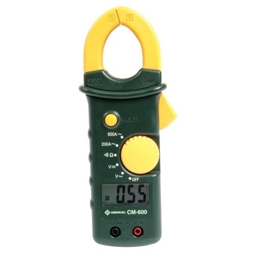 Greenlee - Clampmeter,Ac/Dc-Calibrated, Elec Test