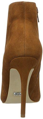 Buffalo London Zs 5730-15 Nobuck, Botines para Mujer Marrón (BRICK 01)