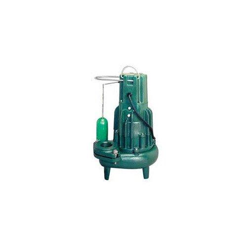 Model E282 Waste-Mate Non-Automatic Cast Iron Sewage Pump - 230 V, 1/2 HP (Single Seal)