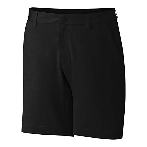 Cutter & Buck Men's CB Drytec 50+UPF Moisture Wicking Bainbridge Sport Short, Black, 38