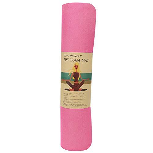 FastUU Cojín de Yoga para el hogar de TPE, cojín de Ejercicio Antideslizante para niñas Bailarinas Principiantes con…